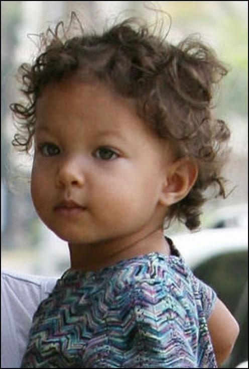 Nahla Aubrey Halle Berry Biracial Baby