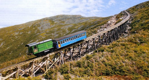 New train to the top of Mt. Washington