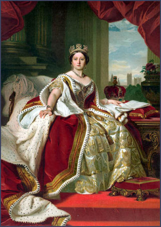 Queen Victoria in her youth