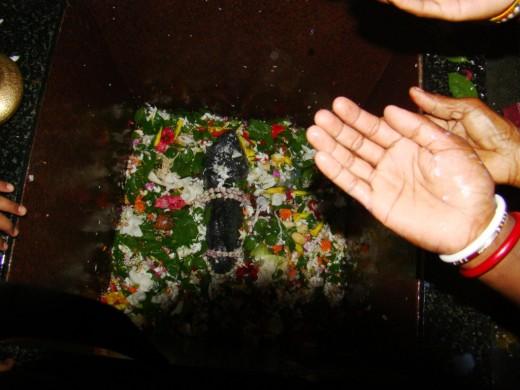 The Ekteswar Shiva Lingam