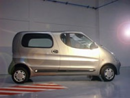 claims of 80% fuel saving and 110kph (70mph)have been made for this new compressed air car. Click to enlarge picture.