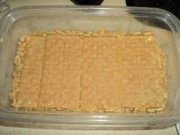 Layer of Graham Crackers