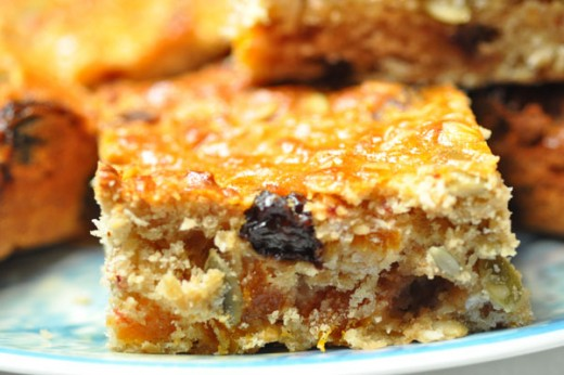 Muesli Slice - healthy & tasty. Image:  Siu Ling Hui