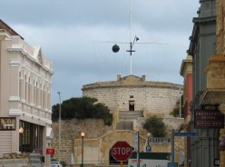 The Roundhouse, overlooking the historic city of Fremantle