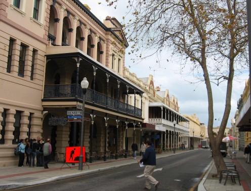 Victorian streetscape