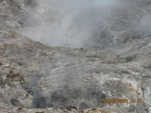 Sulphur Springs Volcano, Soufriere