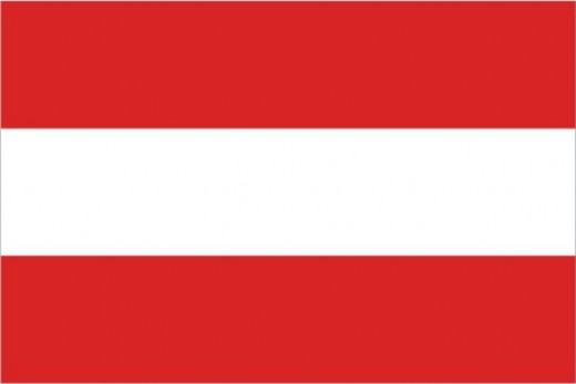 The flag of Austria. Image courtesy of Austria.