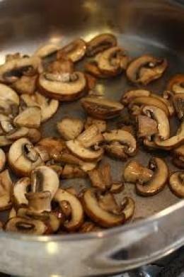 How to make mushroom chicken quesadillas