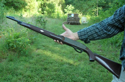 """Nylon 66"" .22 Long Rifle, now collectible"