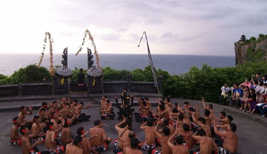 The Kecak Dance tells the story of Ramayana