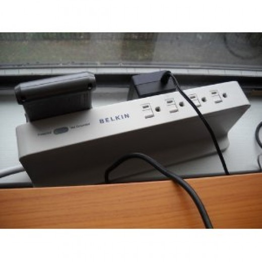 A Belkin Surge Protector
