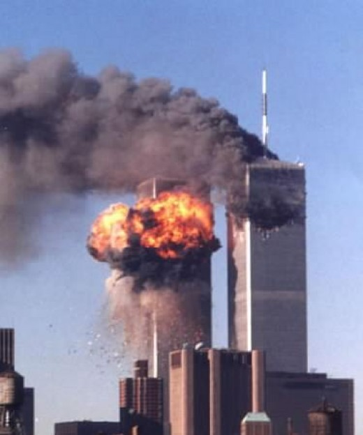 Two highjacked planes hit the Twin Towers killing hundreds - September 11, 2011
