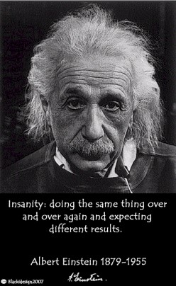 the definition of insanity is