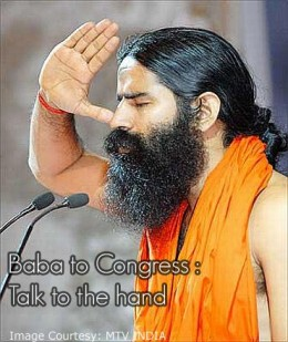 Yog Guru Swami Ramdev doing breathing YOGA - Anulom - Vilom. DO IT AND YOU WILL NEVER GO TO A DOCTOR.