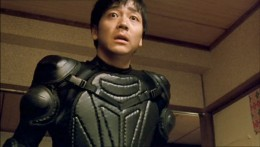 Ichi in his killing suit (the number 1 is on the other side, which is never explained)