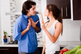 Couples argue sometimes