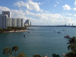 Nice view over Biscayne Bay