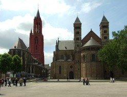 The Sint-Janskerk and the Sint-Servaasbasiliek, Maastricht