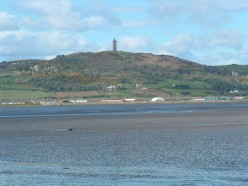 Scrabo Tower overlooking Strangford Lough