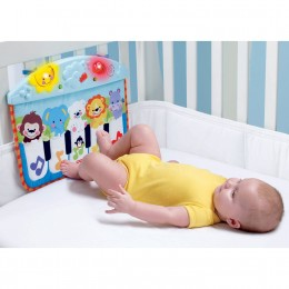 Babies will love being able to activate the music all by themselves when they kick excitedly in the crib.
