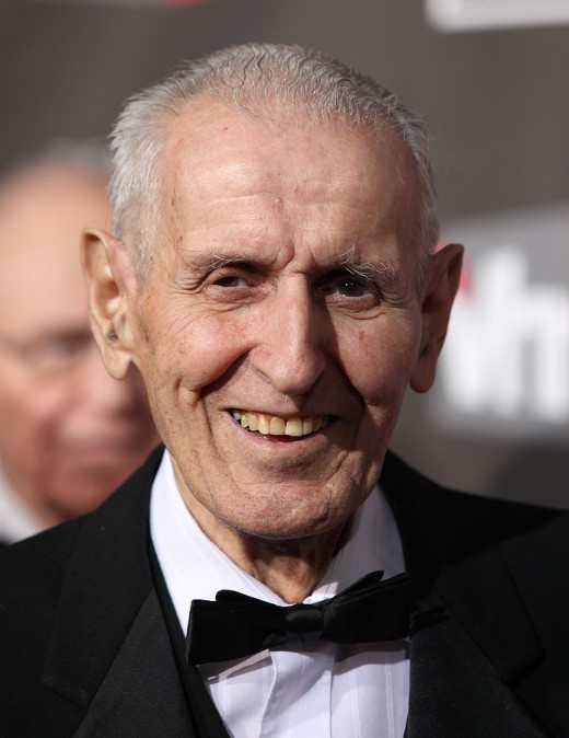 Photo of Jack Kevorkian at the Golden Globe Awards