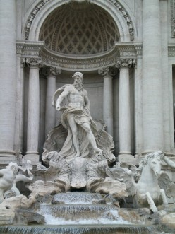 The Trevi Fountain, Rome (c) A Harrison
