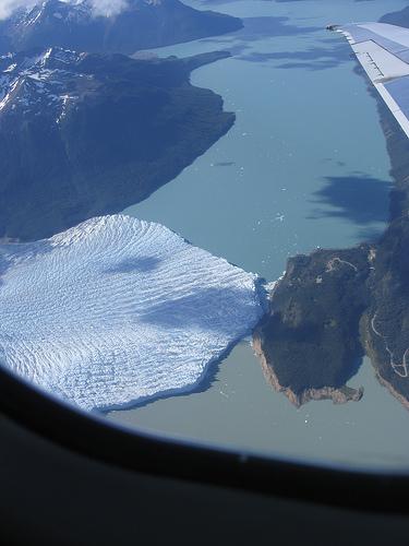 Perito Moreno Glacier Argentina from the air