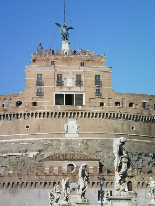 The Castel Sant Angelo, Rome (c) A.Harrison