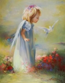 angel On the Garden