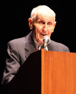 """An Evening with Dr. Jack Kevorkian,"" UCLA, January 2011."