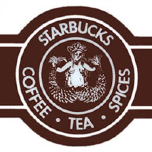 Starbucks Logo Then