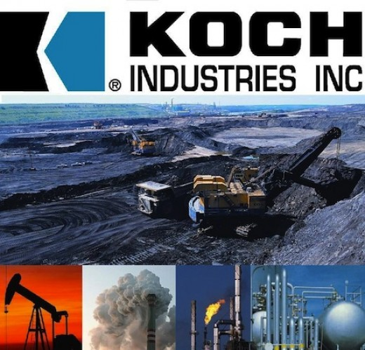 "People have got to begin to get to know the fats on ""Uber-Polluting Koch Industries"