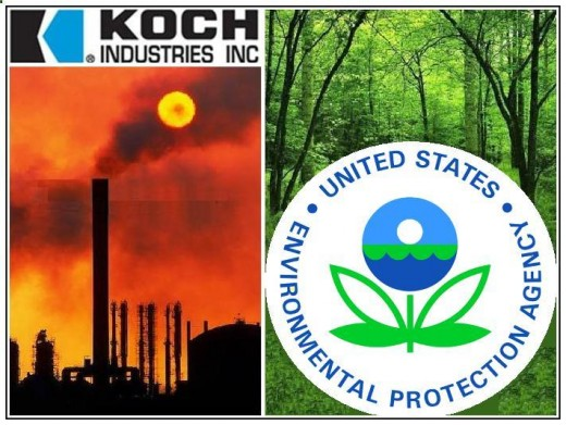 Koch Industries does not respect EPA's science based approach to managing climate change; instead, they fabricate their own fact and publish propaganda as credible academic information