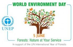 """World Environment Day - """"Forests: Nature at Your Service""""."""