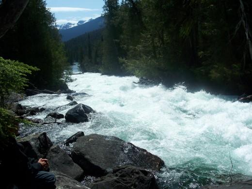 we portaged around these rapids