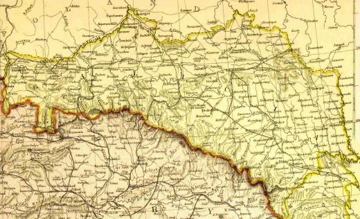 Map of Galicz