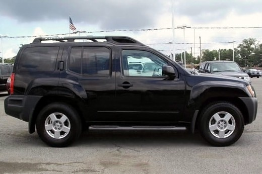 Tonight after work, we test drove a Nissan Xterra, this one we did purchase.