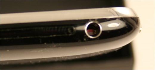 Headphone jack water damage sensor on the iPhone 3GS