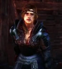 Witcher 2 Battle for Vergen and Fighting Beside Saskia