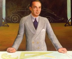 Diego Rivera's portrait of Edsel B Ford