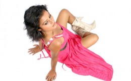 Nepali Model Rekha's top view photography