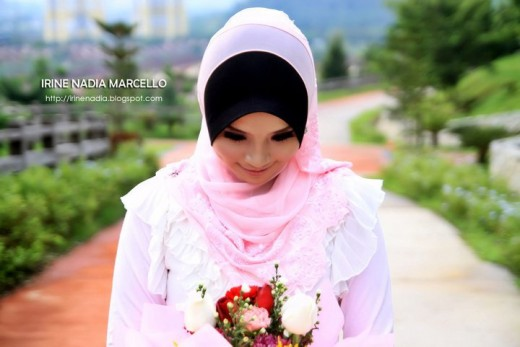 The chosen beauty of Muslimah which is in so many time being misunderstood by others