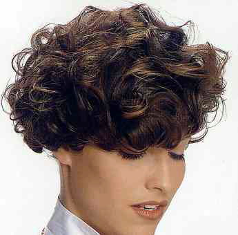 Short curly hair is daring and exciting; confident and bold. Images:Courtesy Curly Hair Styles Magazine.