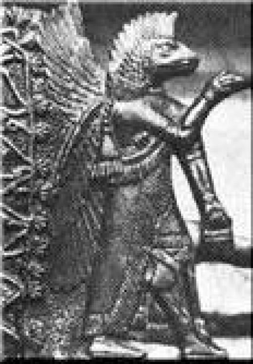 Ancient god or ancient demon?