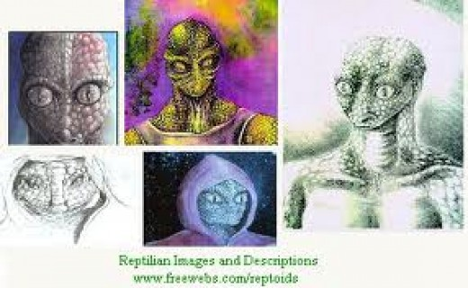 Reptilian aliens or just demons?