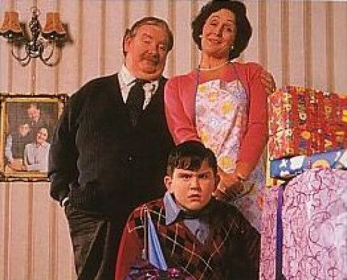 Uncle Vernon, Aunt Petunia and Dudley