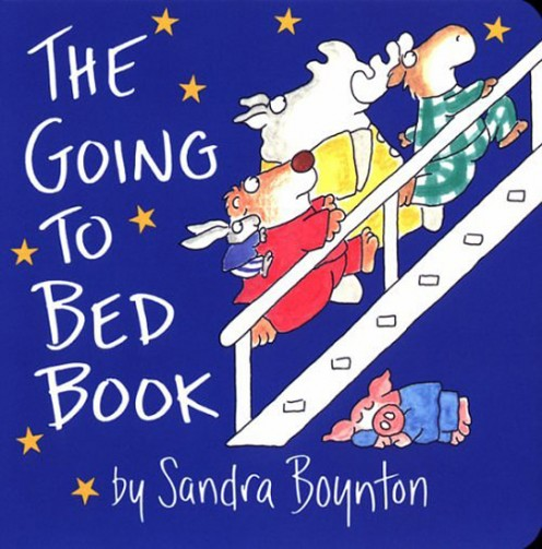 The Going to Bed Book by Sandra Boyton