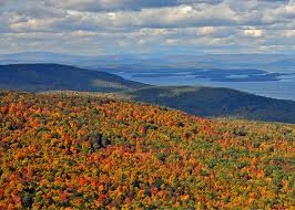 Mount Major in the Fall