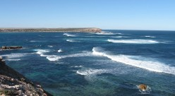 The rocky foreshores at Elliston.... pounded by the Great Southern Ocean