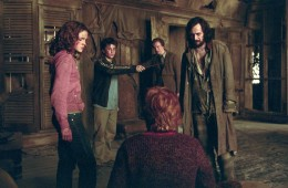 Ron, Hermione, Harry, Remus, Sirius in The Prisoner of Azkaban